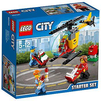 LEGO City Airport Starter Set #afflink