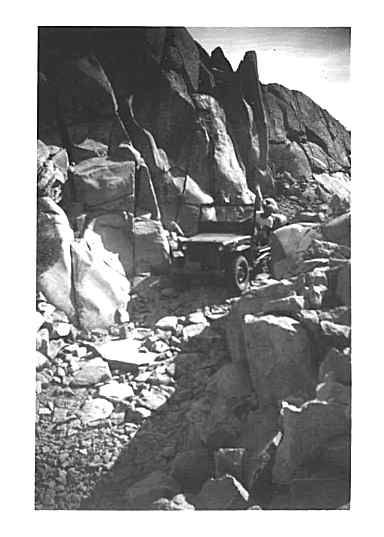 Willys Jeeps Cross Rubicon Trail In 1946!