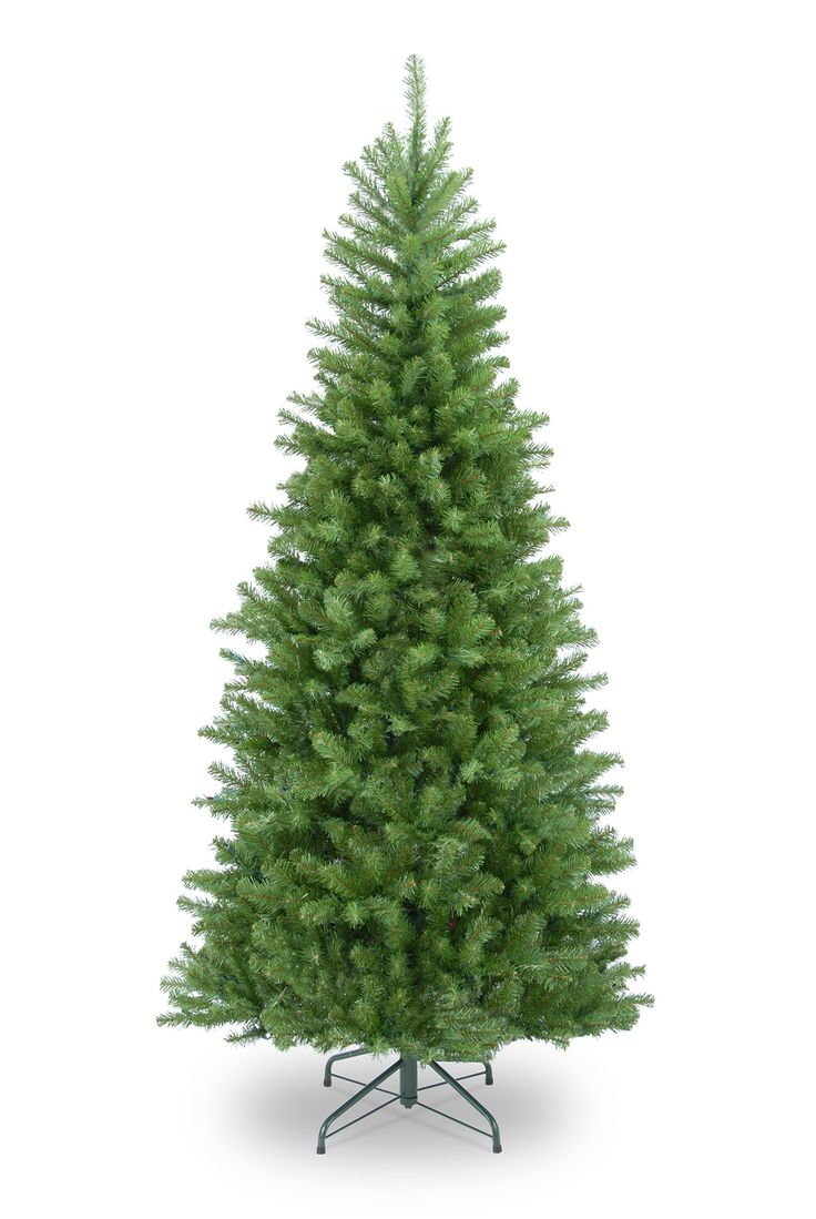 6.5ft Columbia Spruce Slim Artificial Christmas Tree