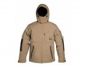 Parka impermeabile Timberland PRO 105, colore beige, modello TIMB 4264105-S/XXXL