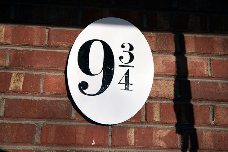 Platform Nine and Three Quarters