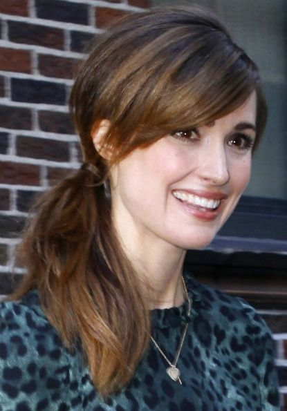 How to Get a Low Side Ponytail Like Rose Byrne and Kirsten Dunst