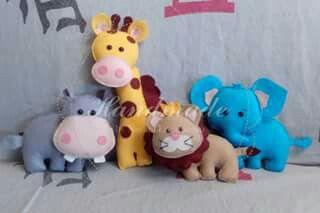 Parte da família safari