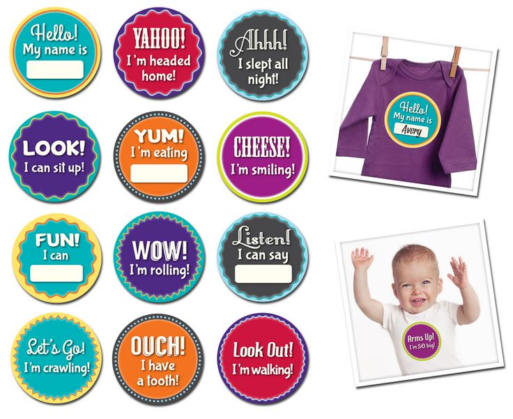 Milestone Momento's by Sticky Bellies!  The perfect way to capture and record all those special milestones in your little ones life!  Everything from first smile to first tooth is covered!  Little Boo-Teek - Sticky Bellies Online   Newborn Baby Gifts   Baby Shop Online