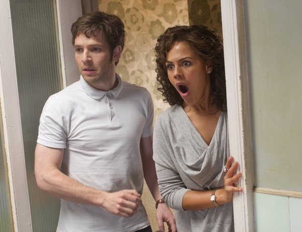 Hal and Annie of Being Human UK
