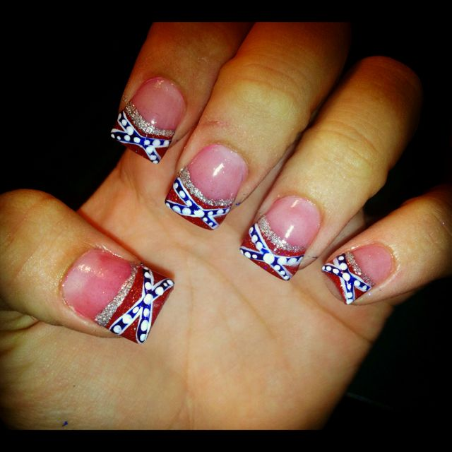 Country Nails: 25+ Best Ideas About Redneck Nails On Pinterest