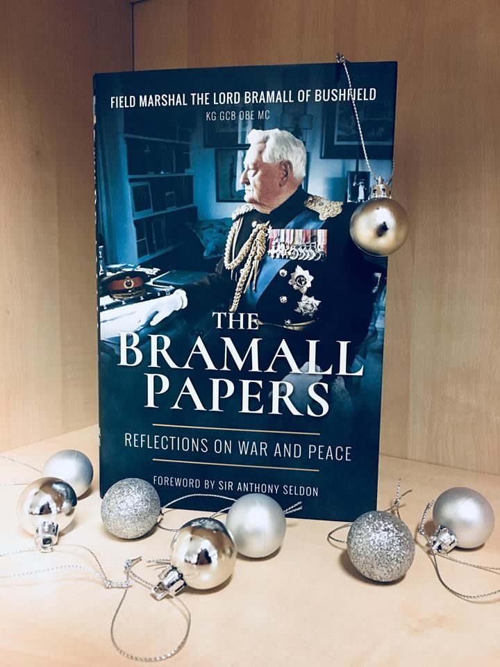 The perfect gift for a loved one this #Christmas! Pick up our bestseller, The Bramall Papers for only £20 (RRP £25) for a limited time only.  https://www.pen-and-sword.co.uk/The-Bramall-Papers-Hardback/p/14182  #WW2 #Military #History #Bookstoread #Nonficnovemberw