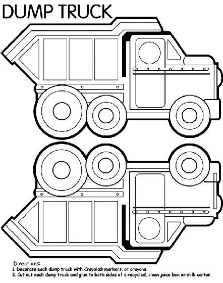 Printable Coloring Pages Garbage Truck : 145 best kids playideas images on pinterest