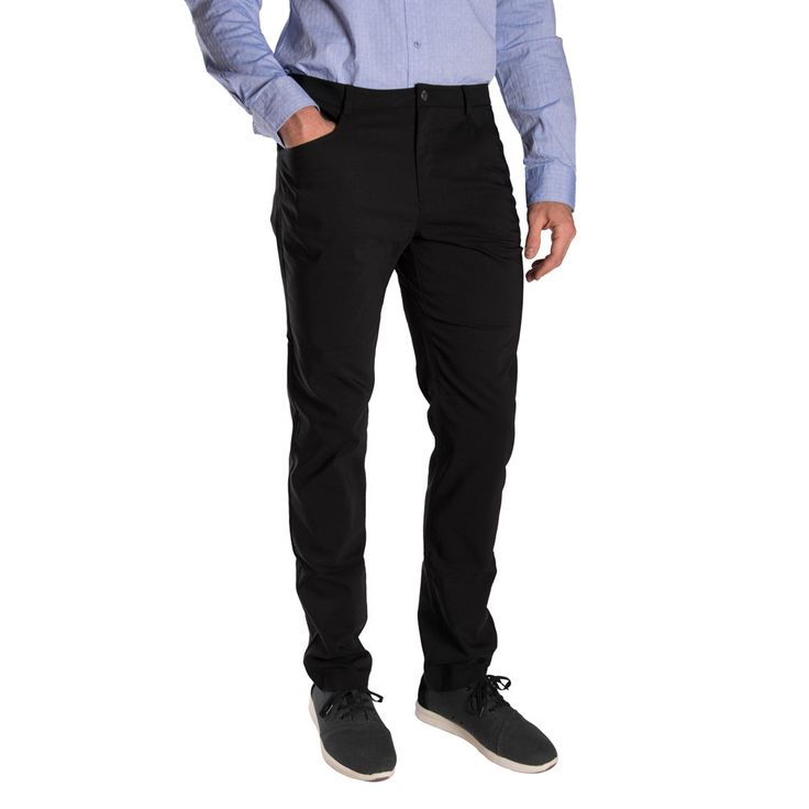 Men's Tall Skinny Black Pant | American Tall