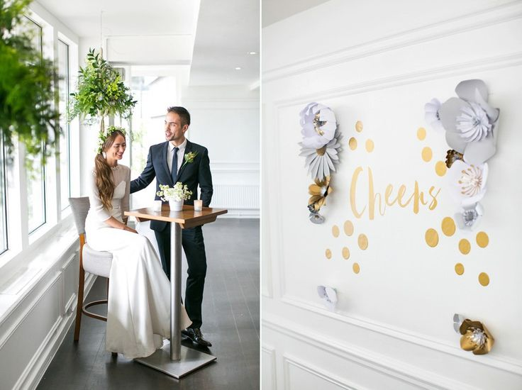 City-chic, Modern and Contemporary Wedding Inspiration at The River Rooms London