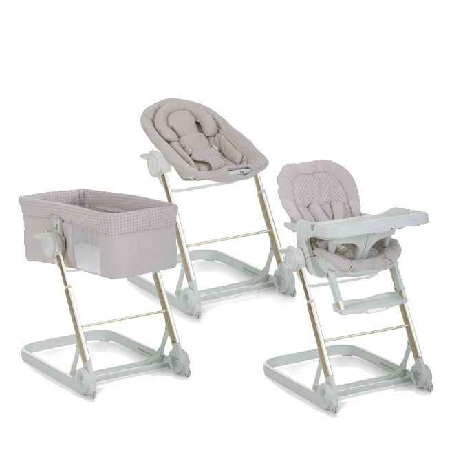 Bassinet, Bouncer and High-Chair Set - now at Toys and Stuff
