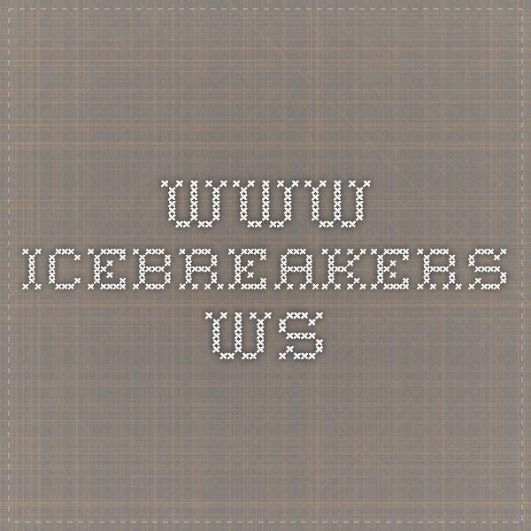 www.icebreakers.ws