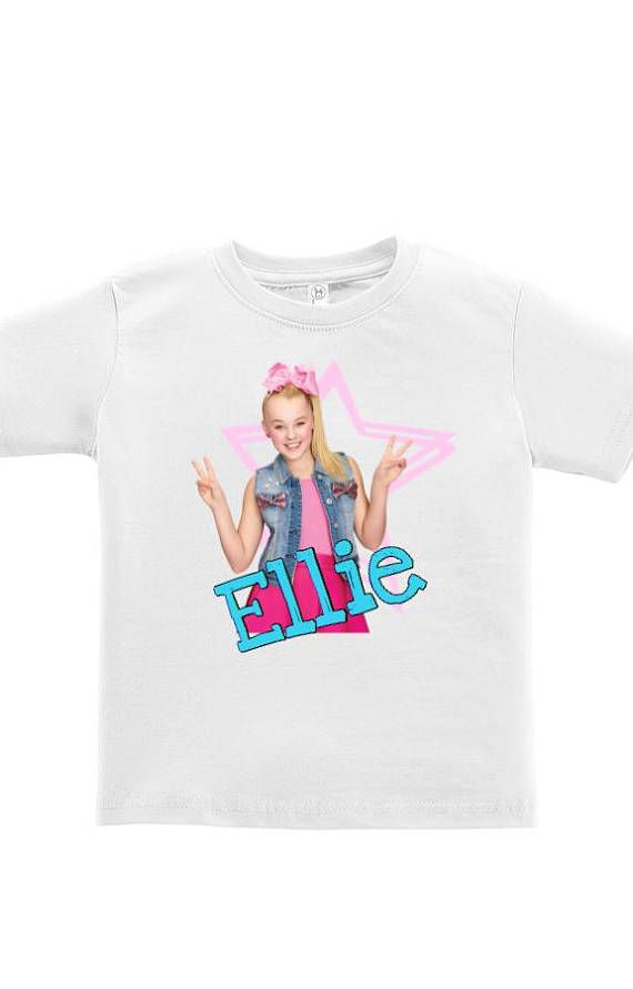 Jojo Shirt Siwa Tee Birthday Party