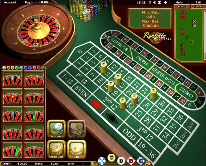 Multiball Roulette Novomatic - http://casinospiele-online.com/multiball-roulette-novomatic/