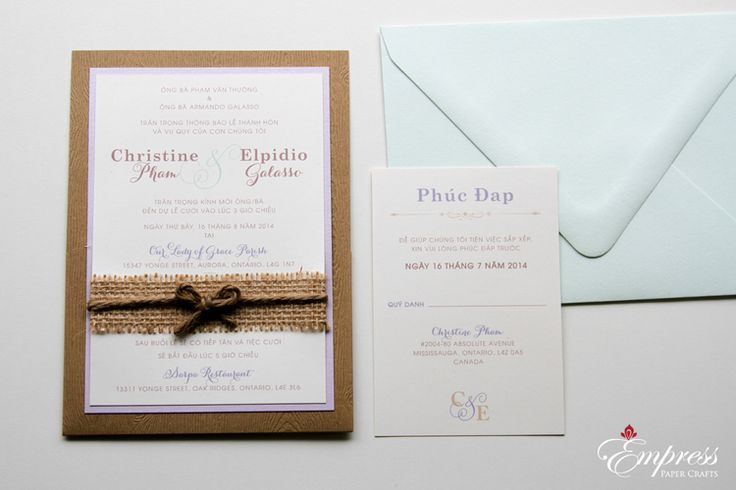 15 best wedding VN images on Pinterest Graphic wedding invitations