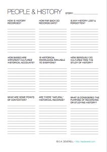Another worldbuilding worksheet for ya! Because you & I have history. ;) |  #amwriting