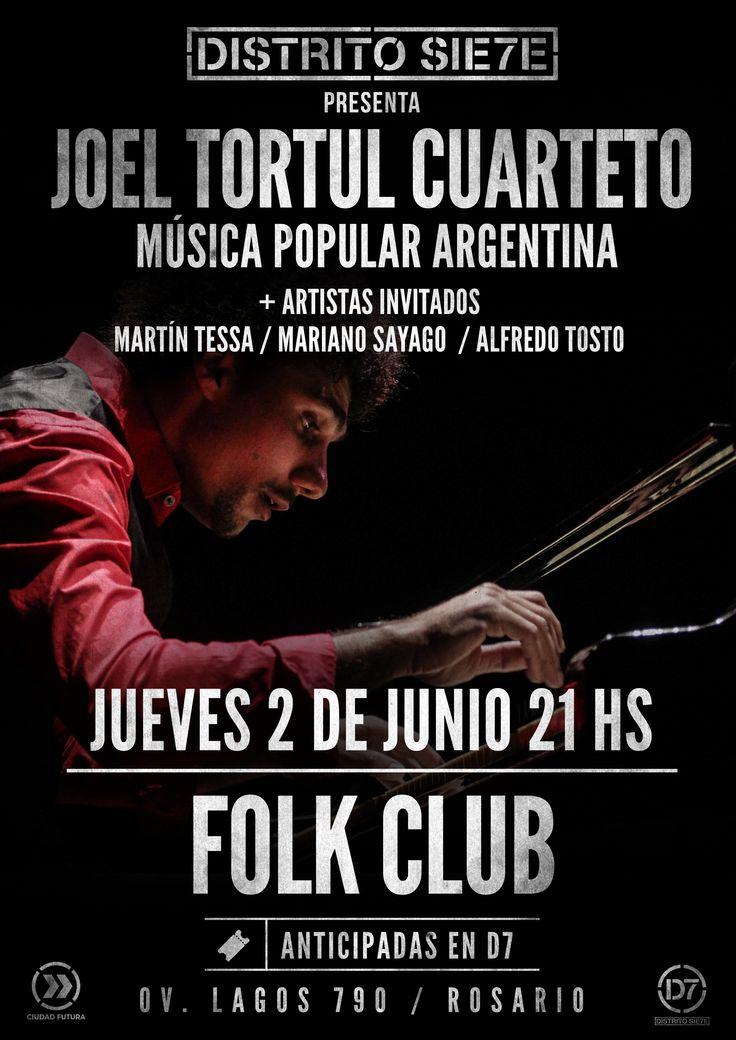 JOEL TORTUL CUARTETO 2/6/16 Distrito 7