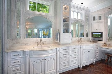 Laguna Hills Country French Manor - traditional - bathroom - orange county - GRADY-O-GRADY Construction & Development, Inc.