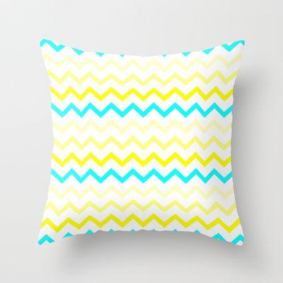 MIAMI SUNSHINE Throw Pillow by Monika Strigel - $20.00