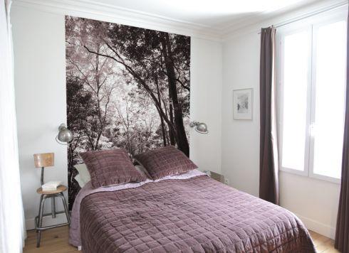 125 best chambre a coucher images on pinterest for Lai papier peint deco