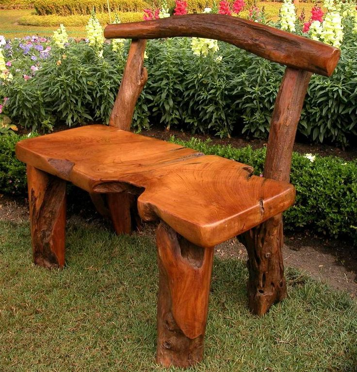 102 best images about driftwood ideas on pinterest for Tree trunk garden bench