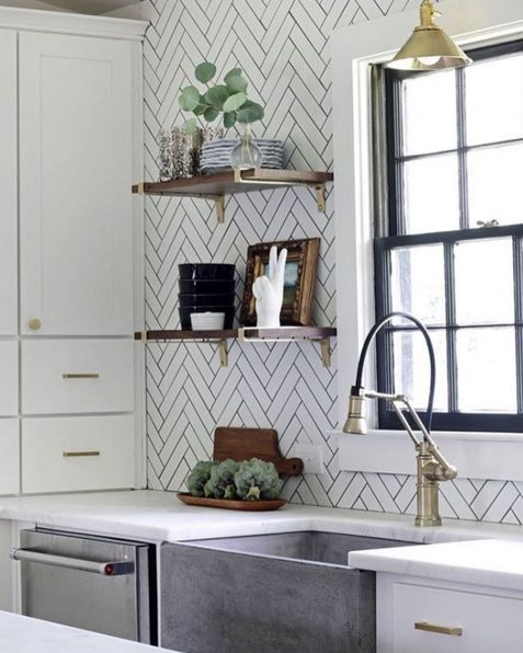 Pretty Kitchen Details Also Some Perfect Pairs With The New Fall Pantone Colors On Today