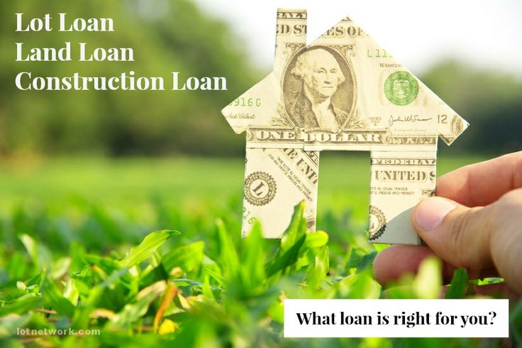 Lot Loan, Land Loan or Construction Loan. What loan is right for you?