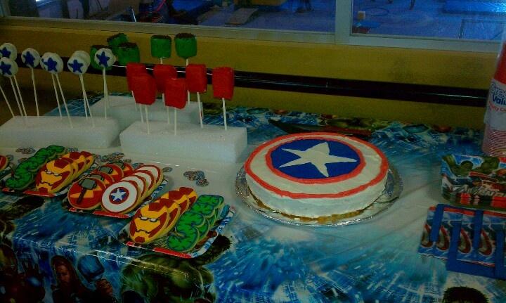 Marvels birthday party!