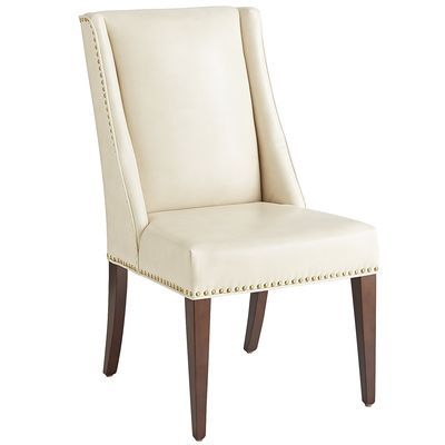 Owen Wingback Dining Chair - Ivory