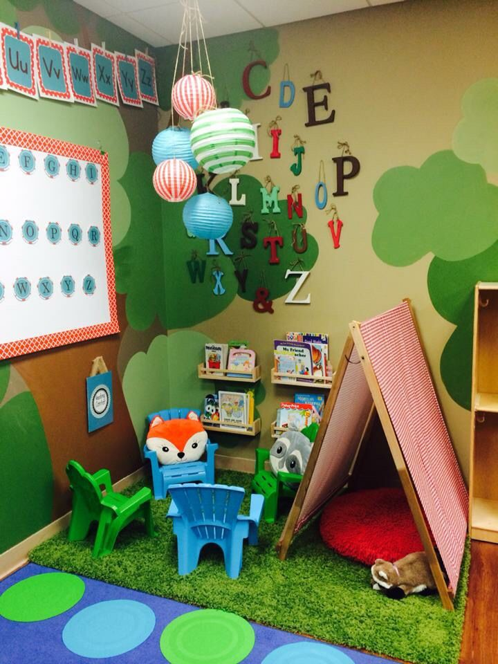 Woodland Classroom Theme
