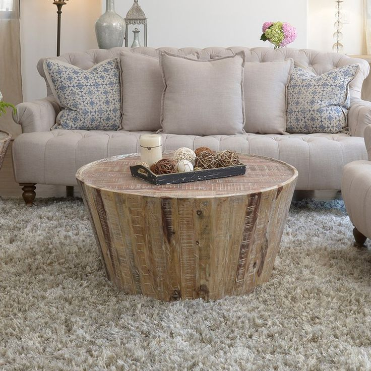 "$527 Citrus Park 38"" Wood Coffee Table"