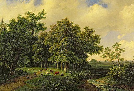 Barend Cornelis Koekkoek - Landscape