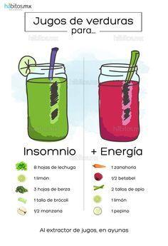 Hábitos Health Coaching   JUGOS DE VERDURAS PARA DAR ENERGÍA/CONTRA EL INSOMNIO