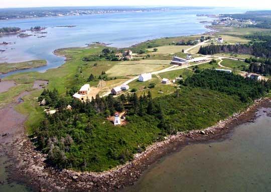 Le Village historique acadien de la Nouvelle-Écosse - Pubnico-Ouest, Nouvelle-Écosse