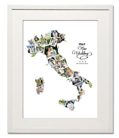Italy Wedding, Honeymoon & Anniversary Collage