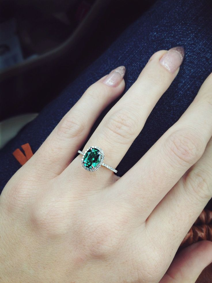 25 best ideas about Emerald rings on Pinterest