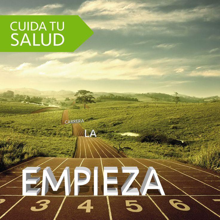 Para ganar la #carrera de la #vida, puedes empezar por cuidar tu #salud. Tunatura.com #bogota