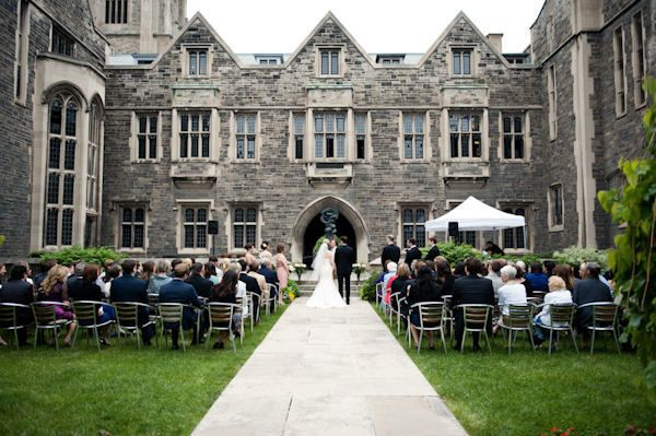 Hart House Quad at The University of Toronto. Top 10 Unique Cocktail Wedding Venues – Toronto | This Beautiful Day