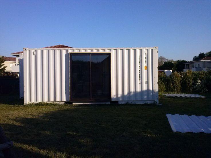 49 best My garage container shipping images on Pinterest Carriage - construire un garage en bois m