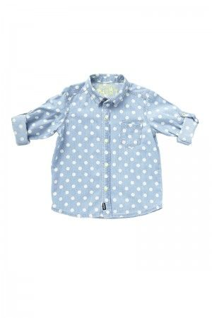 Bonds Chambray Spot