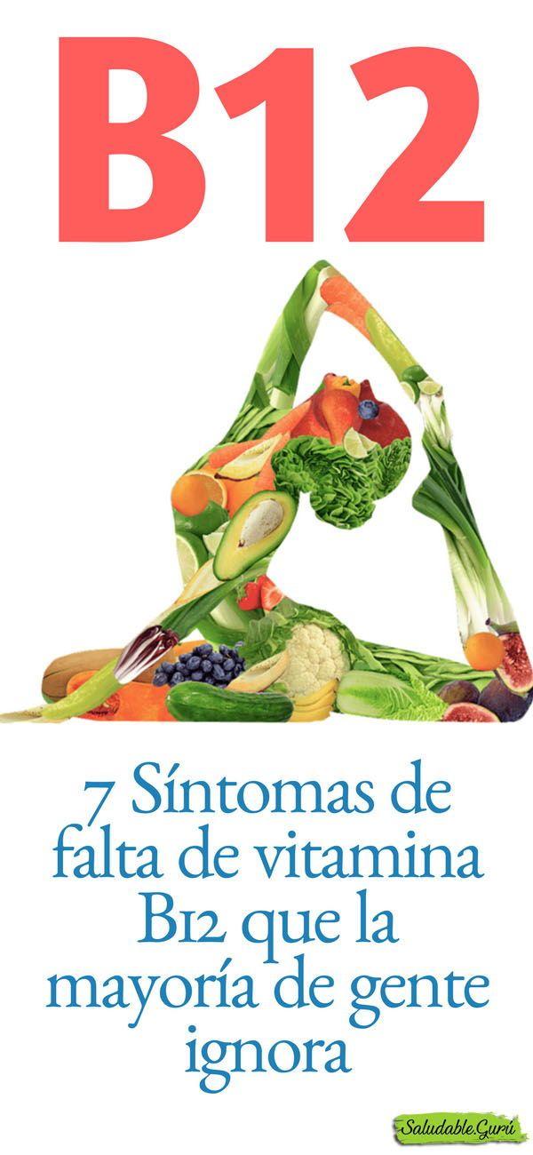 sintomas deficit de vitamina b12