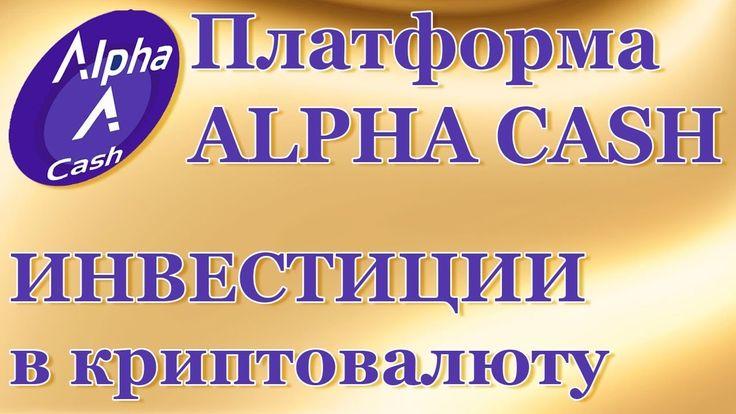 Alpha Cash_Инвестиции на платформе   Н. Христолюбова