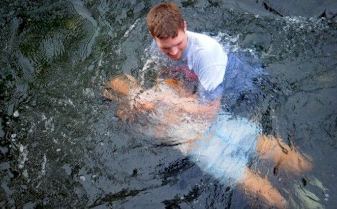 Images Of Baptize Or Sprinkle Baptism In Water Immersion