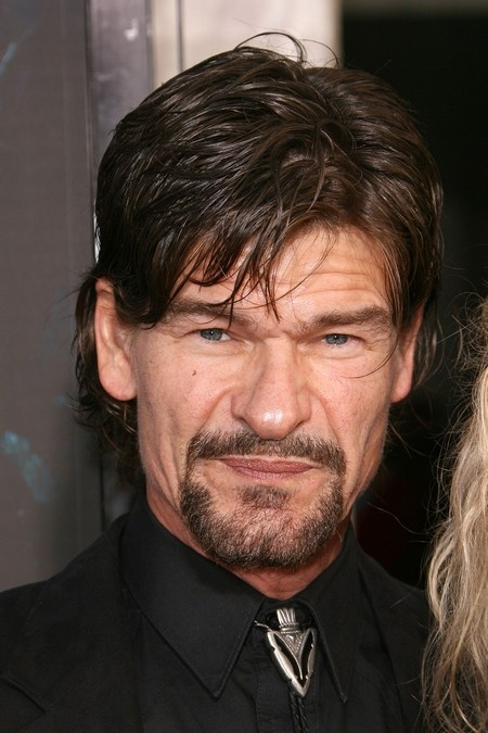 Patrick Swayze And His Brother | ... his hair is just a ...