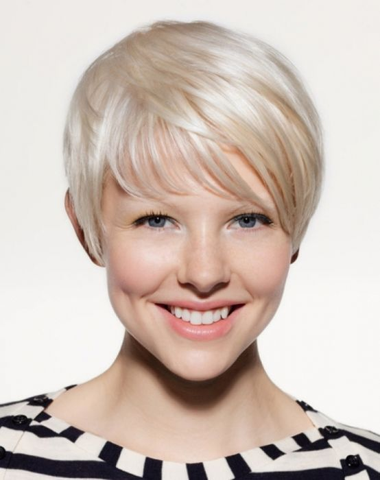 Women's Short Hairstyles For Oval Faces | Hairstyles for thin and ...