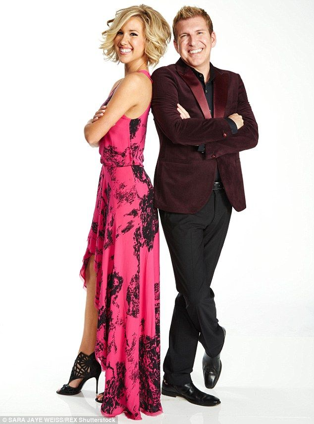 Dad and daughter duo:Savannah stars with her dad Todd Chrisley, 46, on the family's reality show, which is due to begin a second season in November