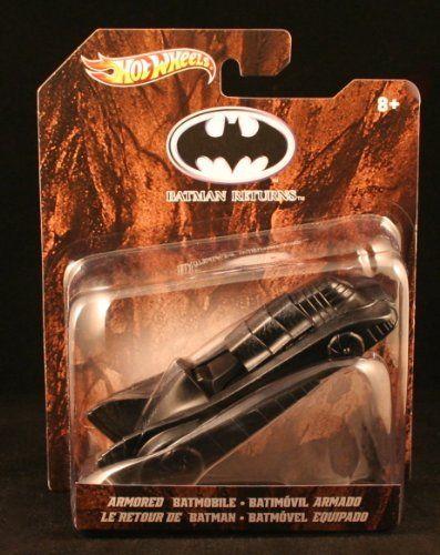 ARMORED BATMOBILE * BATMAN RETURNS * Hot Wheels 1:50 Scale 2012 Batman Series…