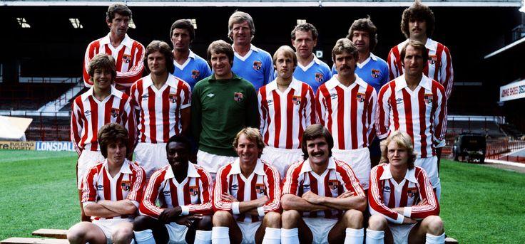 stoke city   Retro Stoke City Football Shirts - Vintage Tops & Jerseys from TOFFS