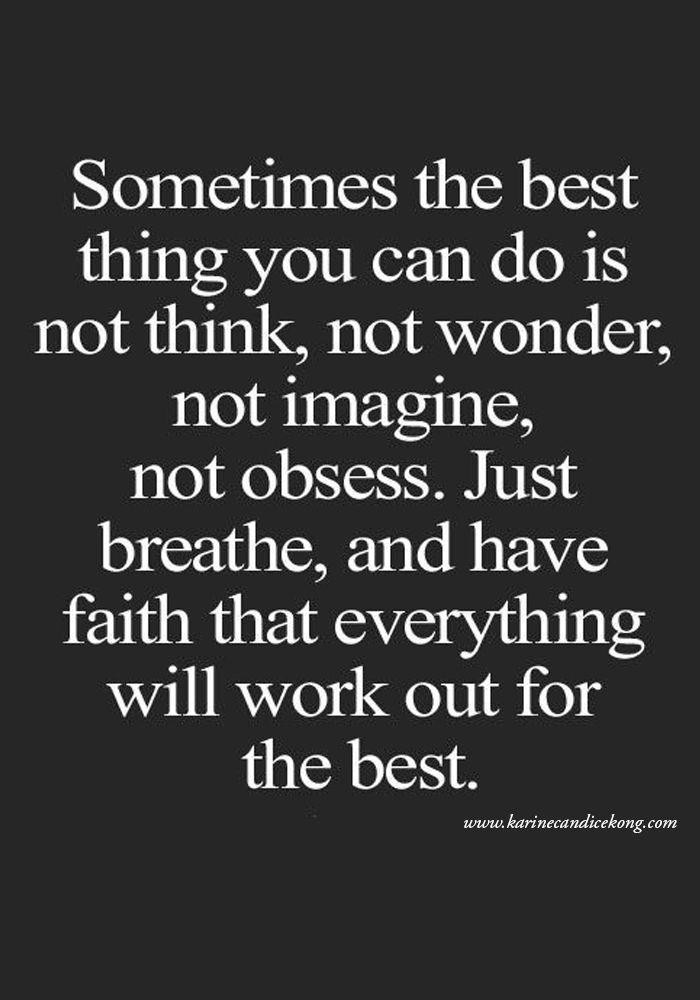 Vivre et laisser les belles choses arriver à leur rythme. Good things take time.