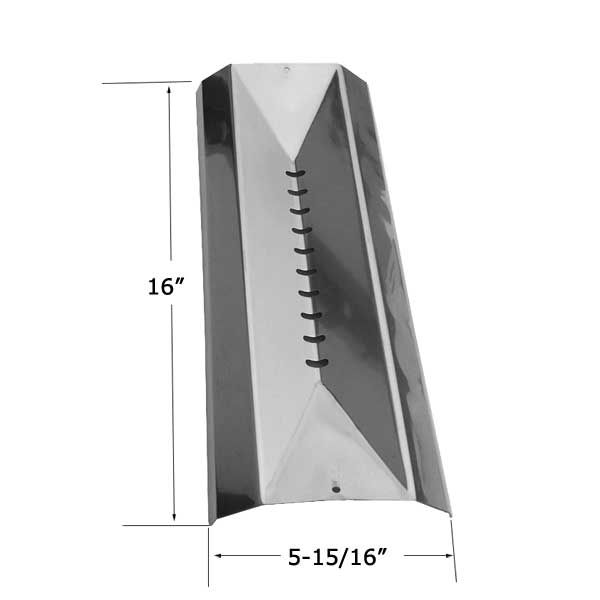 STAINLESS STEEL HEAT SHIELD FOR CENTRO 85-3010-6, 85-3015-6, G51202, CUISINART 85-3032 GAS GRILL MODELS Fits Compatible Centro Models : 3800, 3900S, 4800, 4900IR, 6800, 6800 85-1629-8, 6800 85-1654-6, 85-1626-4, 85-1627-2, 85-1628-0, 85-1629-8, 85-1651-2, 85-1652-0, 85-1653-8, G51202, G51204, G51207, G51208, G51209 Read More @http://www.grillpartszone.com/shopexd.asp?id=36472&sid=36667